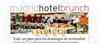 Segunda Edición Madrid Hotel Brunch