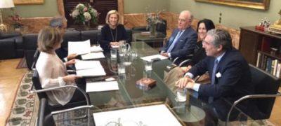 Primer Encuentro Entre La Delegada De Gobierno De La Comunidad De Madrid Y El Presidente De La AEHM