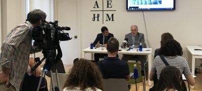 Presentacion Del Cuaderno 'Nuestros Hoteles, Tu Destino Madrid' En La Sede De AEHM