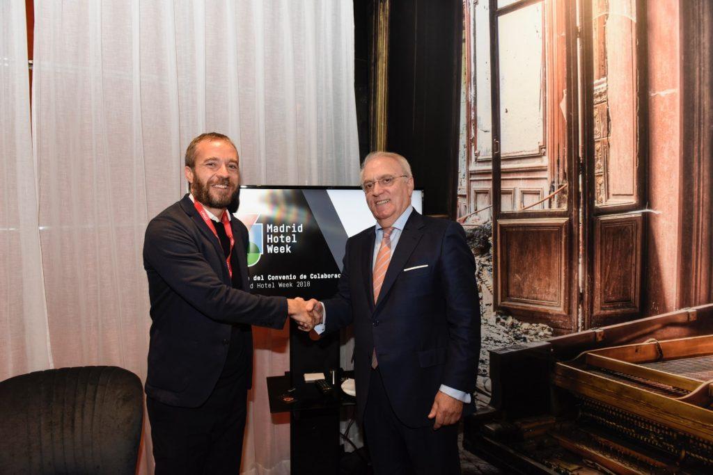 Acuerdo Munimad y AEHM firmado en FITUR 2018