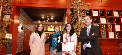 El Stand De La Asociación Empresarial Hotelera De Madrid Recibe El Galardón «Premios A Los Mejores Stands De FITUR 2018»