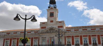 Puerta Del Sol Sede Del Gobierno De La CAM