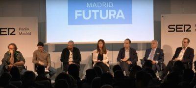 Debate Madrid Futura Organizado Por Cadena Ser En COAM Madrid