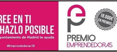 VIII Edición Del Premio Emprendedoras Para Promover, Fomentar, Apoyar, Impulsar Y Motivar La Capacidad Emprendedora De Las Mujeres