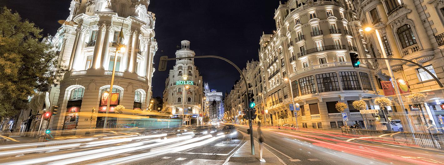 Los hoteles madrileños registran un nivel de reservas del 79,55% para el puente de la Constitución