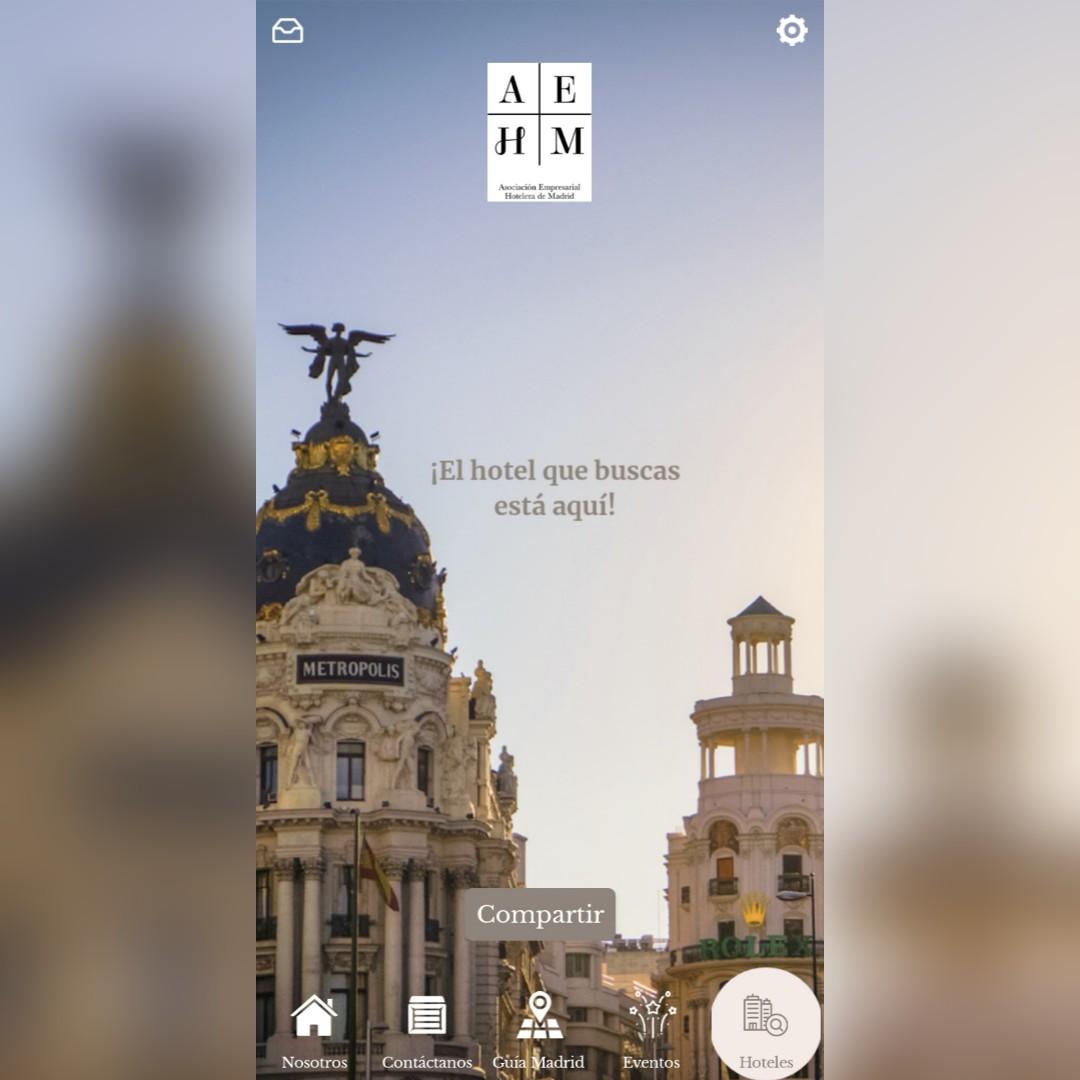La Asociación Empresarial Hotelera de Madrid presenta la app AEHM con información detallada y actualizada de los establecimientos de la región