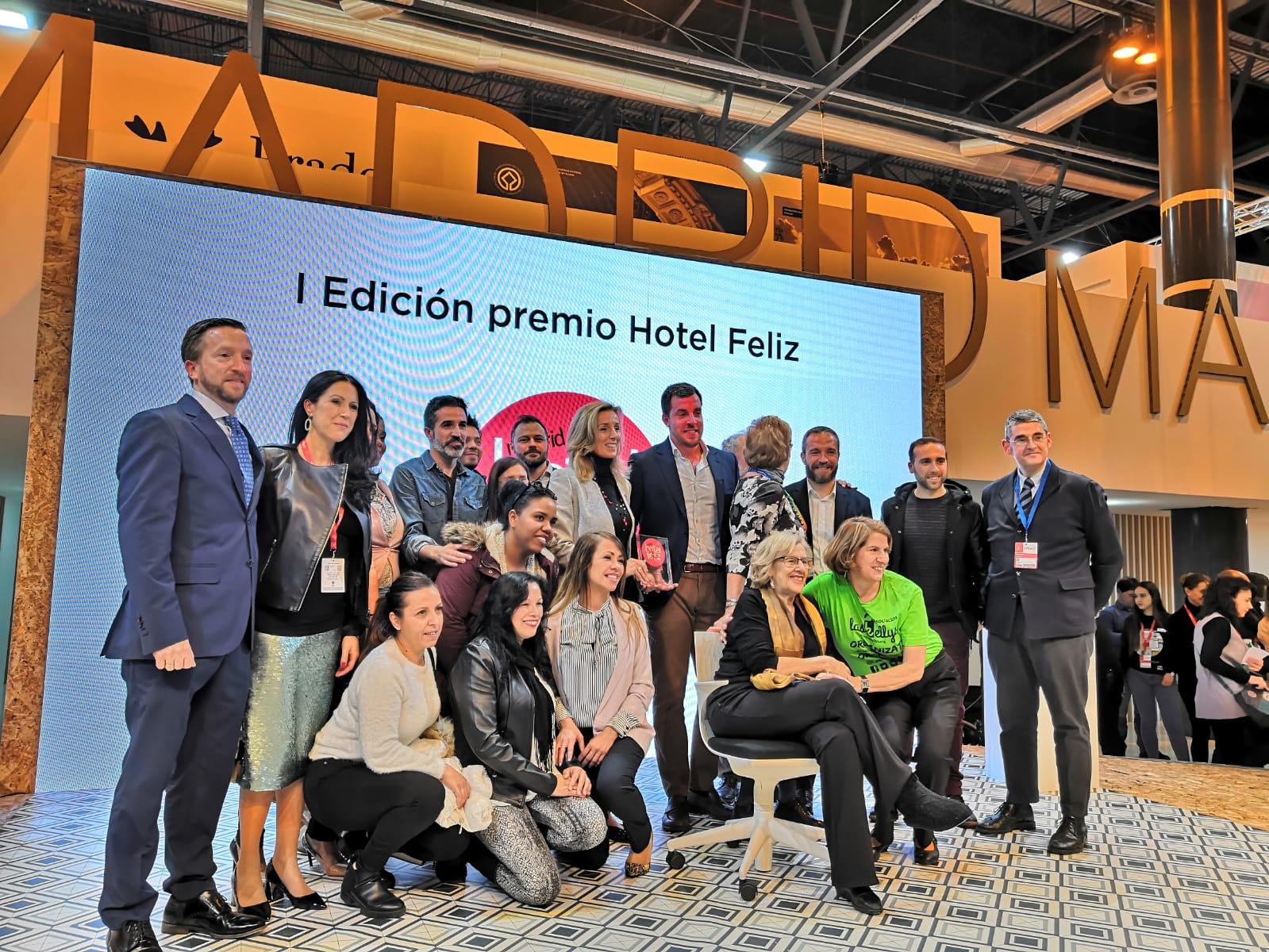 El Hotel Artiem Madrid, Miembro De La Asociación Empresarial Hotelera De Madrid, Recibe El Premio Hotel Feliz Por Su Compromiso Con Los Empleados