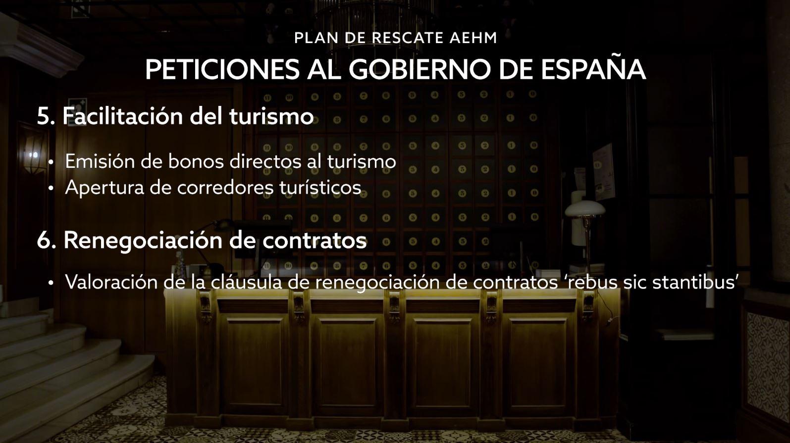 3. Peticiones Al Gobierno De España
