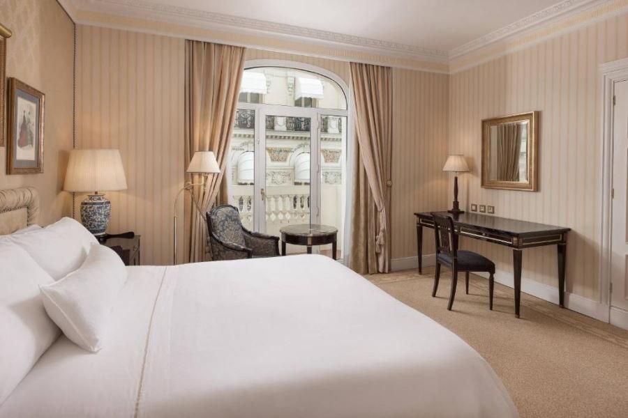 Habitación del Hotel Palace en Madrid