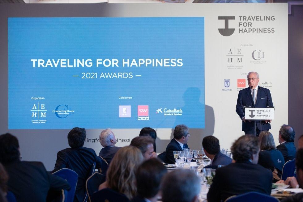 Inauguracion Presidente AEHM Premios Traveling For Happiness Awards